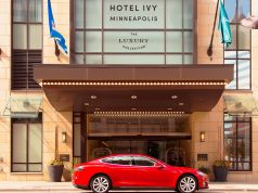 Hotel Ivy and Tesla car rental