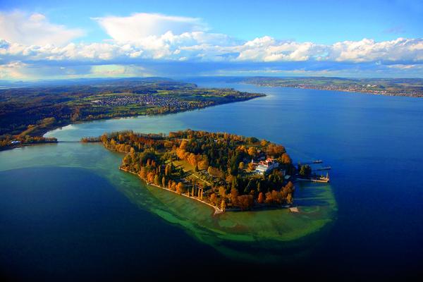 Mainau Island on Lake Constance