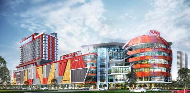 Sunway Velocity Hotel is interlinked with Sunway Velocity Mall