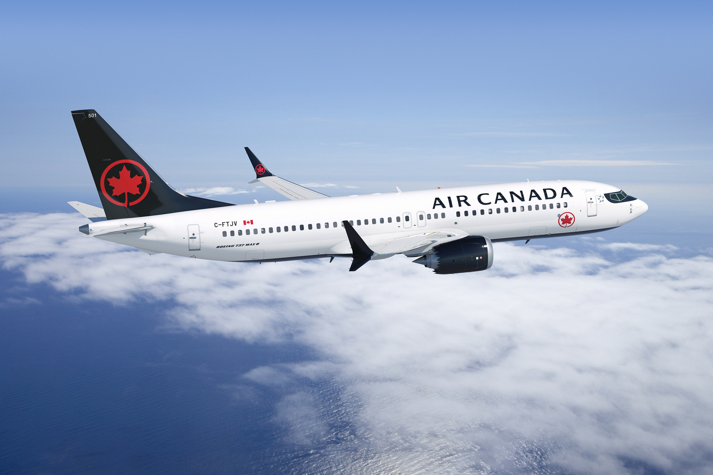 Air Canada S New Boeing 737 Max Enters Regular Service To