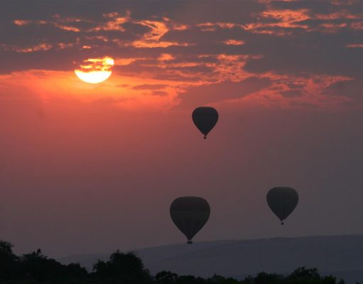 Hot air ballooning Narok