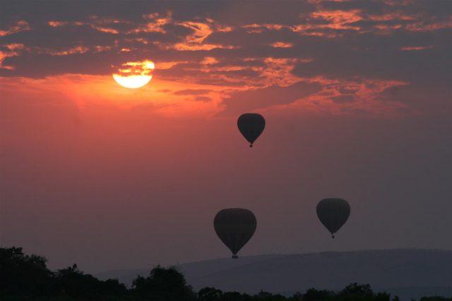 Hot air ballooning Narok