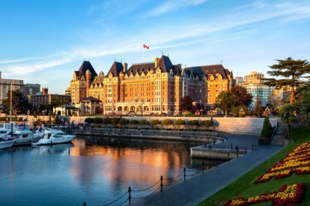 Fairmont Empress in Victoria