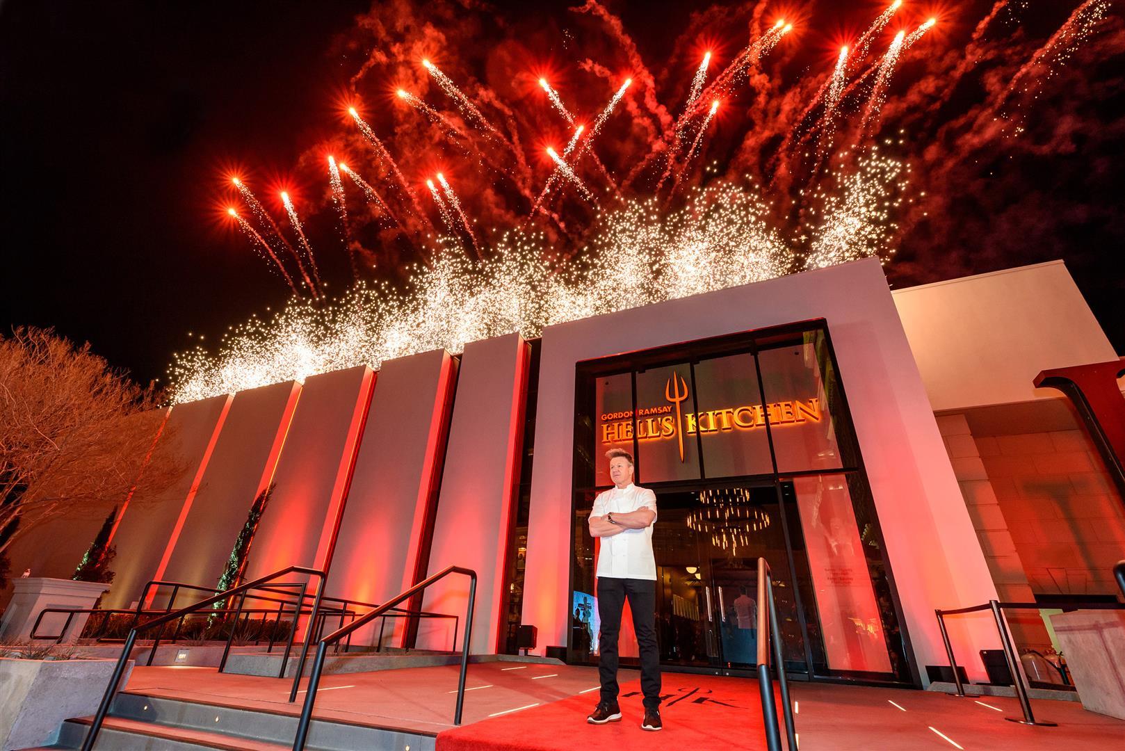 World S First Gordon Ramsay Hell S Kitchen Restaurant Opening At Caesars Palace Las Vegas