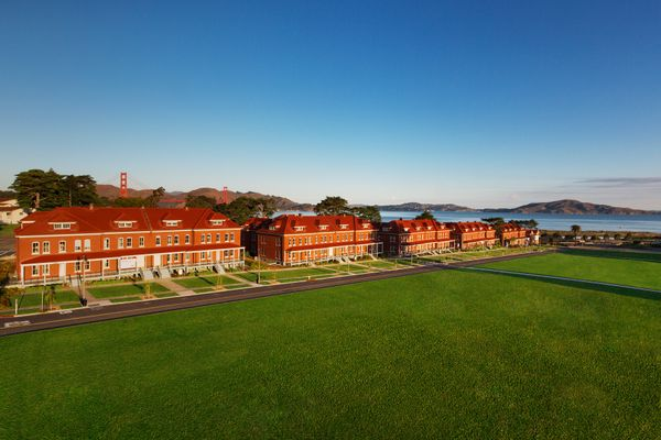 Presidio Lodge on Main Parade Ground