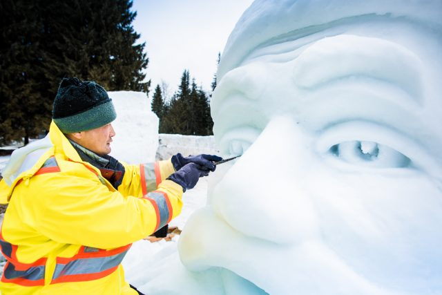 snow sculpture exhibition