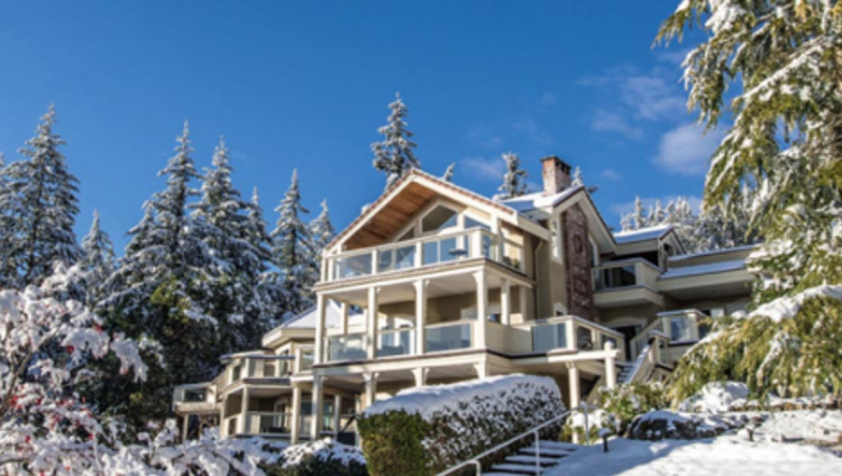 Villa Eyrie Resort On Vancouver Island Accepted In To