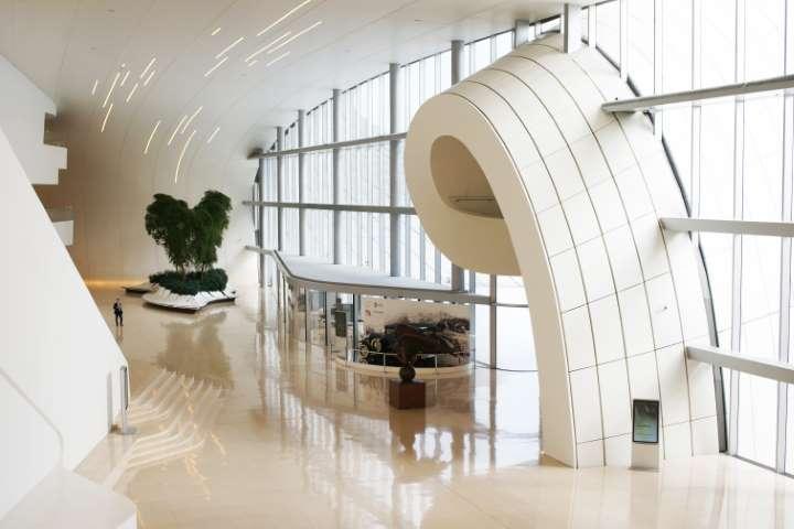 Inside the Heydar Aliyev Centre