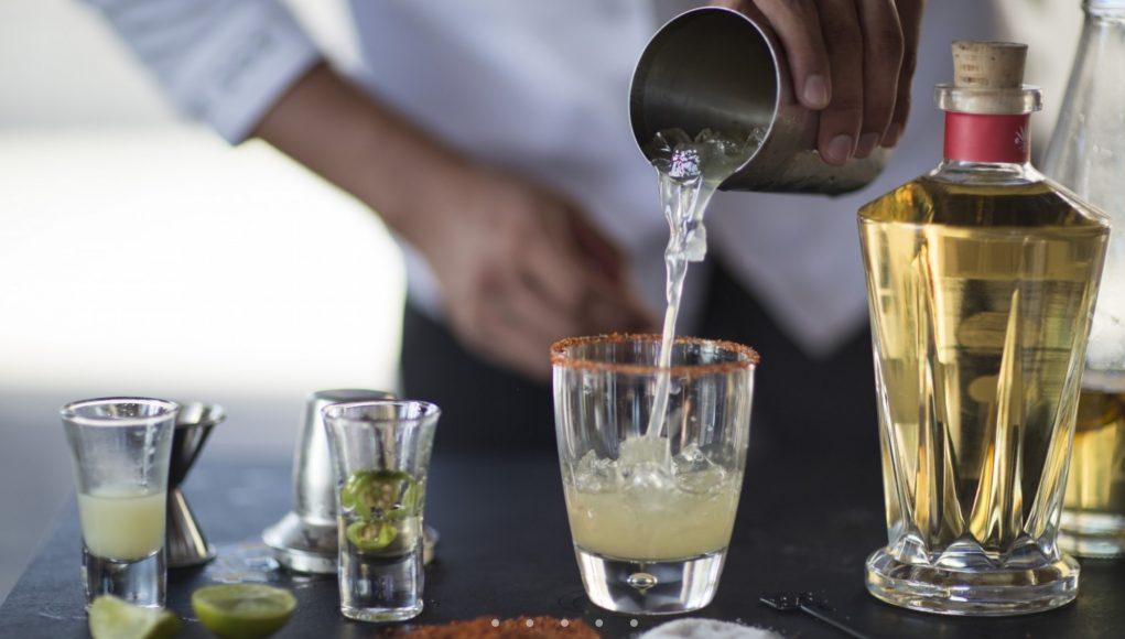 Cinco de Mayo celebration in Mexico with a NIZUC IK margarita