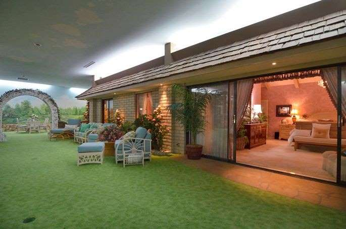 underground shelter with five bedrooms