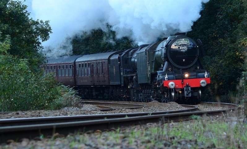 Flying, scotsman, train, railway, engine - free image from needpix.com