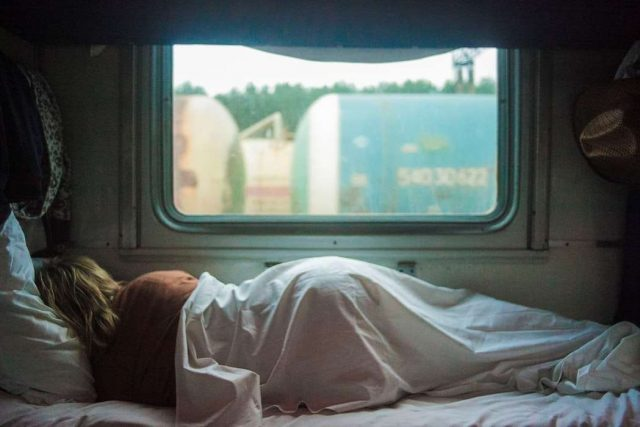 sleeper train travel