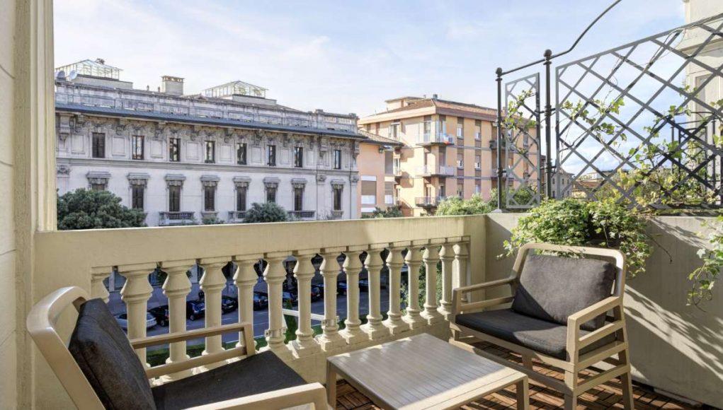 Hotel Indigo Verona Grand Hotel Des Arts - Rooms Standar room with terrace