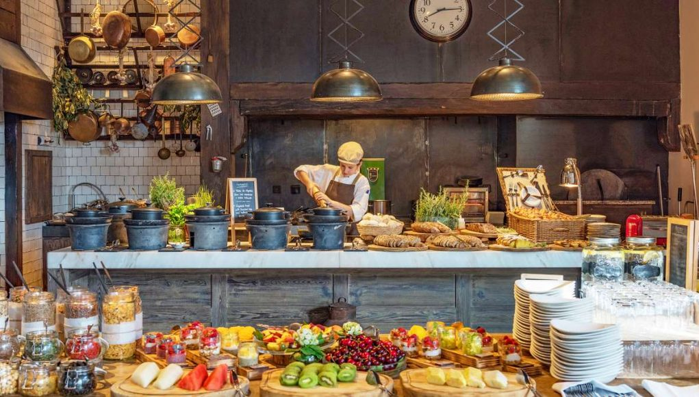 The Open Kitchen at Six Senses Douro Valley, Portugal