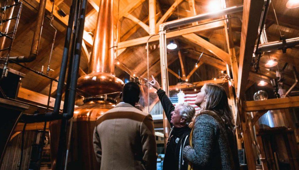 Dinner & Distilleries tours