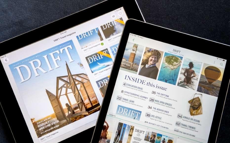 DRIFT Travel magazine on Pressreader