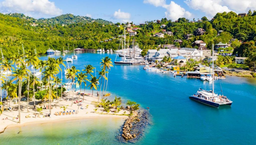 Saint Lucia's Marigot Bay Resort