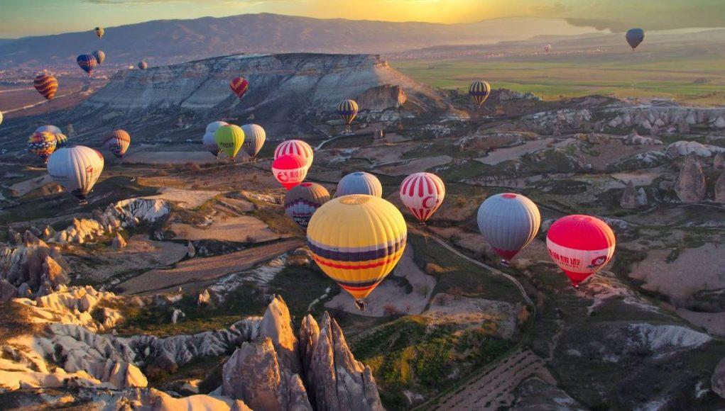 hot-air ballon ride