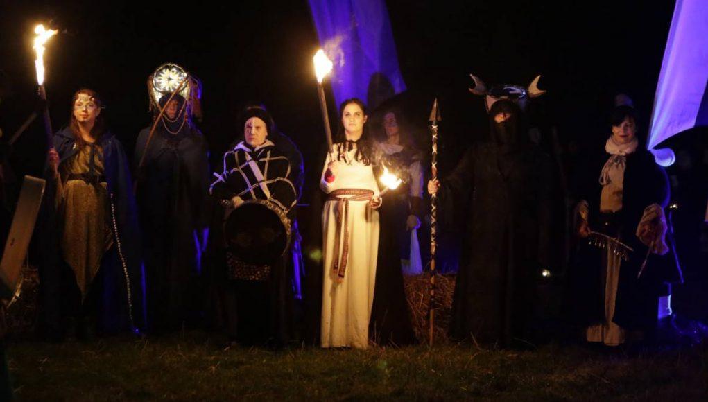 Celtic festival of Samhain