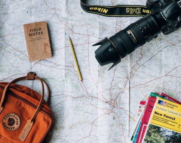 camera map travel guides