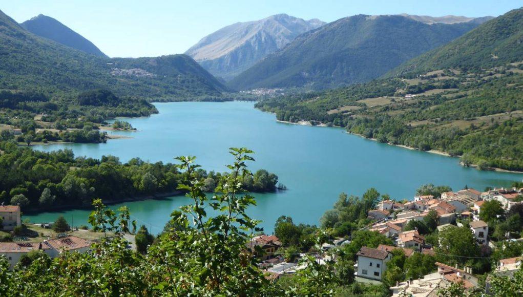 Lake Barrea Italy