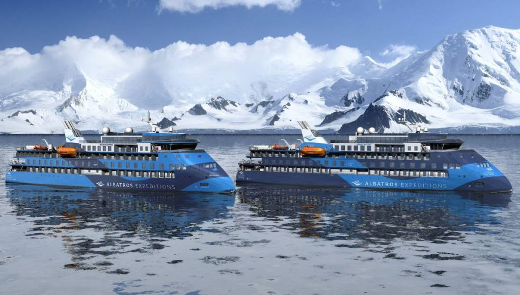 new low greenhouse gases cruise ships