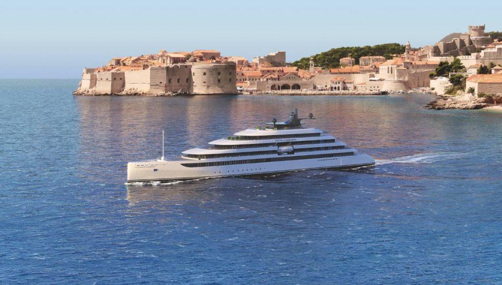 Emerald cruise ship Azzurra