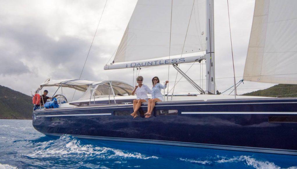 sailing a charter yacht