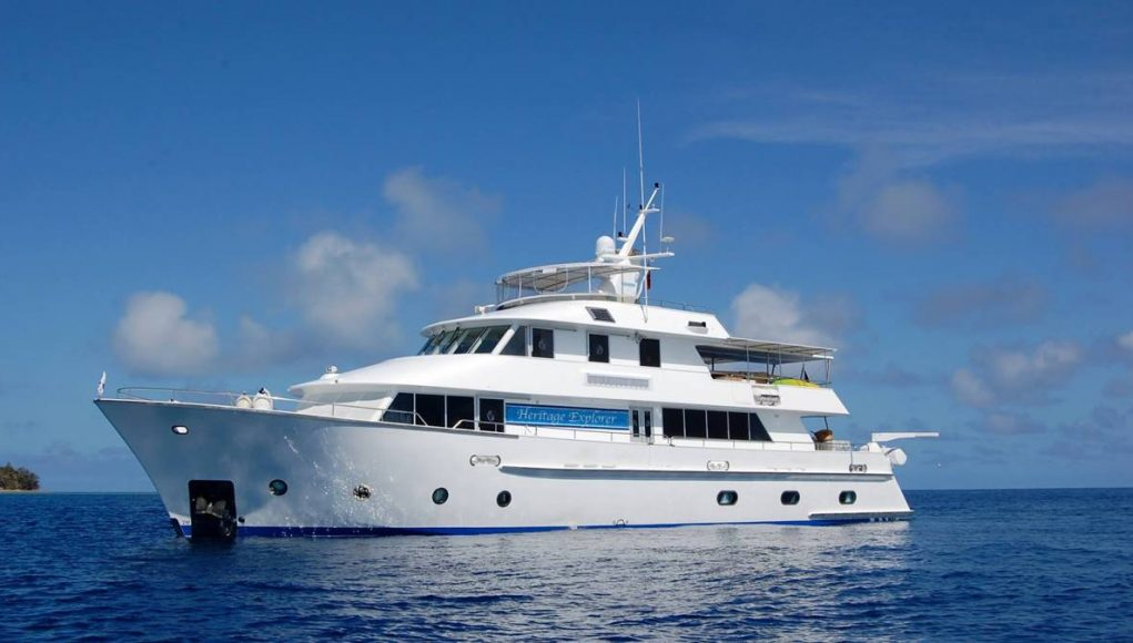 new 18-Guest Expedition Yacht Heritage Explorer
