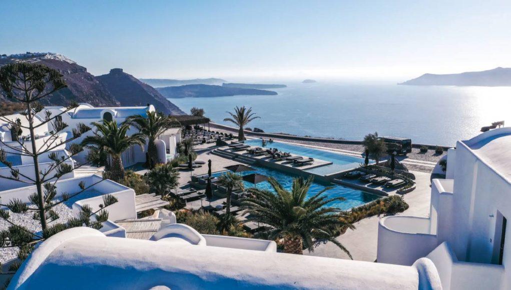 OMMA Santorini pool