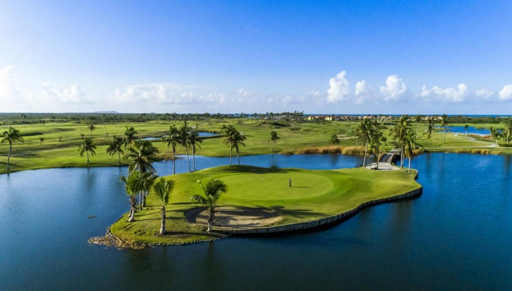 Astounding Island Beckons with 18 Courses