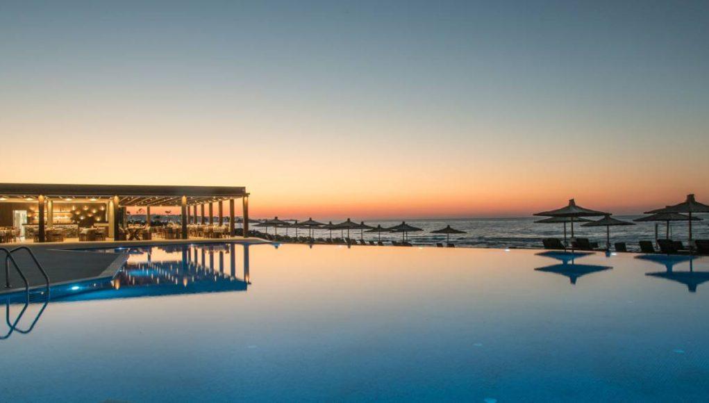 Nana Princess pool at sunset
