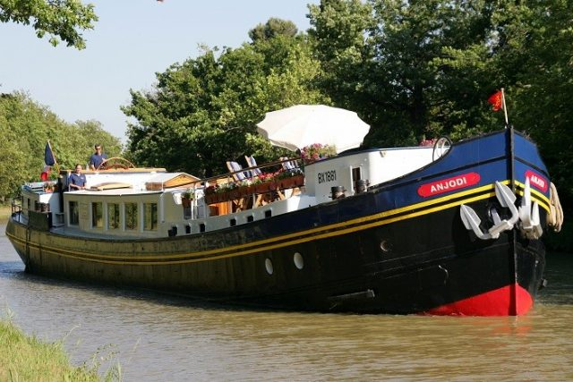 luxury river hotel barge