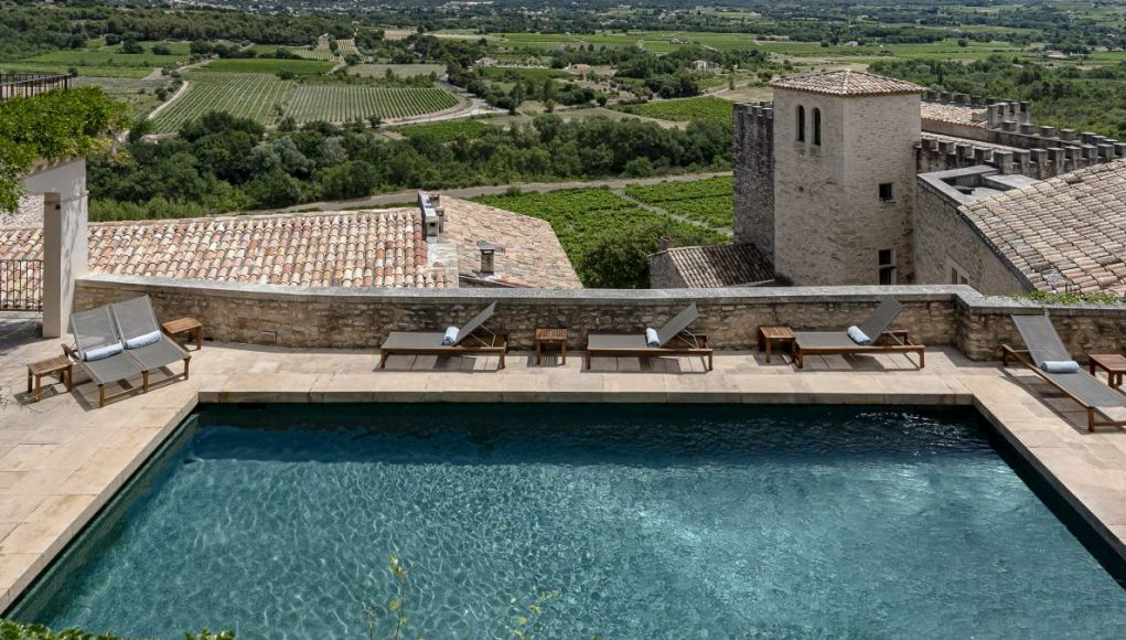 Crillon Le Brave Provence pool