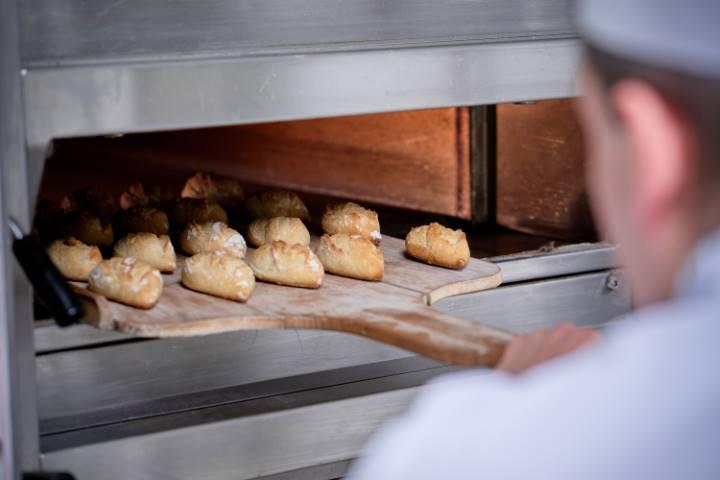 baking croissants in Thailand