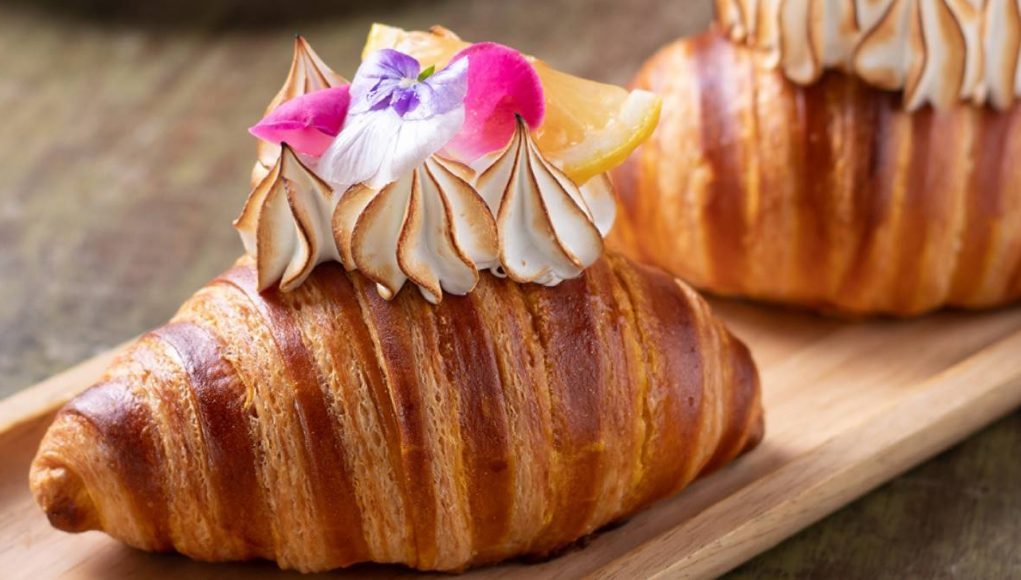 croissant in Thailand