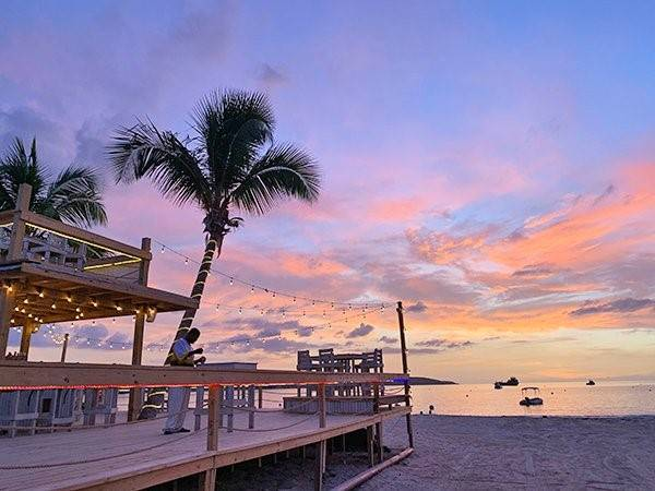 sunset from the Lit Lounge Anguilla in https://drifttravel.com/anguilla-barefoot-elegance-unfussy-chic-untrammeled-bliss/