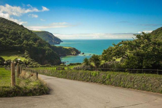 Bay Ocean Nature Coast Devon