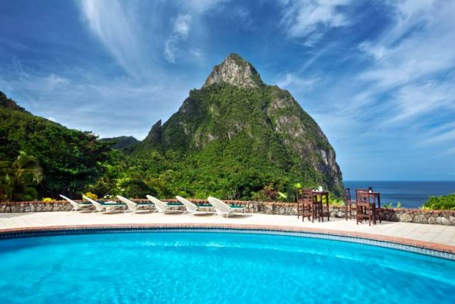 Mango Tree Restaurant pool and view