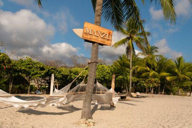 Nantipa resort beach hamocks