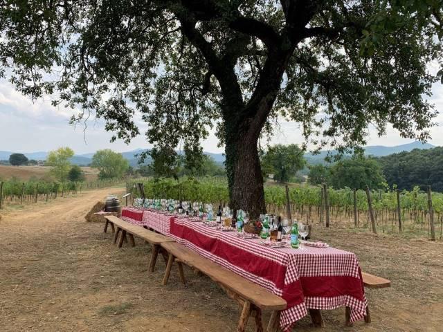 The setting at Borgo Santo Pietros Orto